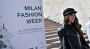 Milan Fashion Week Influencers - 21 Sep 2017