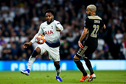 Danny Rose of Tottenham Hotspur takes on Hakim Ziyech of Ajax - Mandatory by-line: Robbie Stephenson/JMP - 30/04/2019 - FOOTBALL - Tottenham Hotspur Stadium - London, England - Tottenham Hotspur v Ajax - UEFA Champions League Semi-Final 1st Leg