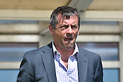 Southend United Manager, Phil Brown  during the Sky Bet League 1 match between Bury and Southend United at the JD Stadium, Bury, England on 8 May 2016. Photo by Mark Pollitt.