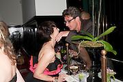 KRISTIN SCOTT THOMAS, Comedy Theatre First night party for Betrayal by Harold Pinter. National Gallery Cafe. Trafalgar Sq. London. <br /> <br />  , -DO NOT ARCHIVE-© Copyright Photograph by Dafydd Jones. 248 Clapham Rd. London SW9 0PZ. Tel 0207 820 0771. www.dafjones.com.