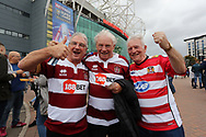 Wigan Warriors fans prior to the Betfred Super League Grand Final match against Warrington Wolves at Old Trafford, Manchester.<br /> Picture by Michael Sedgwick/Focus Images Ltd +44 7900 363072<br /> 13/10/2018