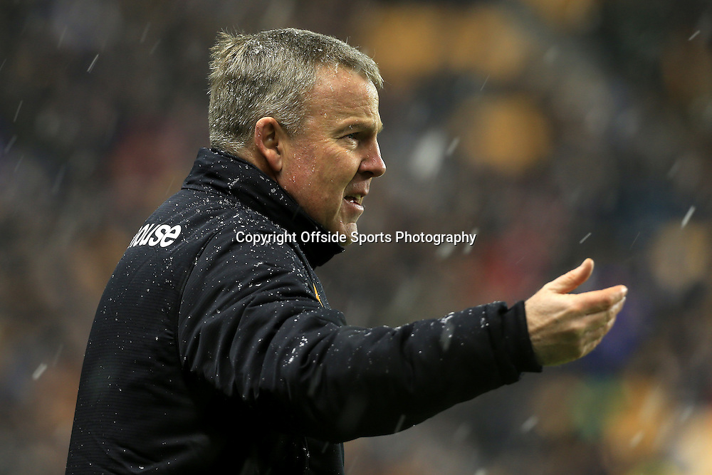 13th January 2015 - FA Cup - 3rd Round Replay - Wolverhampton Wanderers v Fulham - Wolves manager Kenny Jackett - Photo: Simon Stacpoole / Offside.