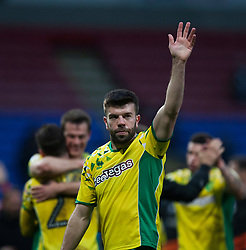 Grant Hanley of Norwich City at the final whistle - Mandatory by-line: Jack Phillips/JMP - 16/02/2019 - FOOTBALL - University of Bolton Stadium - Bolton, England - Bolton Wanderers v Norwich City - English Football League Championship