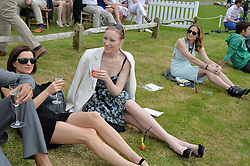 JADE PARFITT at the St.Regis International Polo Cup at Cowdray Park, Midhurst, West Sussex on 17th May 2014.