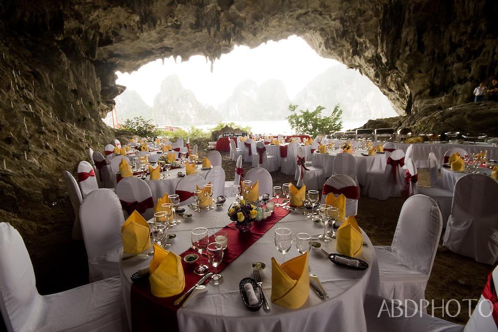 Cave Dinner Halong Bay Vietnam