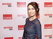Koninklijk Theater Carre, Amsterdam. Lancering van de zevende editie van Amsterdam XXXl. Op de foto: Jolanda Oskam
