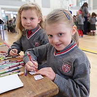 Sophie Maher & Harlow Madden colouring there keyrings