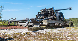24.06.2016, Audinghen, FRA, Museum der Batterie Todt am Atlantikwall, im Bild ein Geschütz // The Todt Battery is a battery of coastal artillery built by the Germans in World War II. It was one of the most important coastal fortifications of the Atlantic Wall, and consisted of four 380 mm calibre Krupp guns with a range up to 55.7 km, capable of reaching the British coast, and each protected by a bunker of reinforced concrete, Audinghen, France on 2016/06/24. EXPA Pictures © 2016, PhotoCredit: EXPA/ JFK