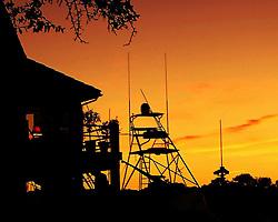 Coastal Sunset Silhouette, Wrightsville Beach, North Carolina