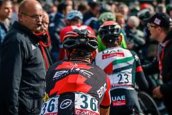 SÁNCHEZ Samuel of BMC Racing Team after the UCI WorldTour 103rd Liège-Bastogne-Liège from Liège to Ans with 258 km of racing at Ans, Belgium, 23 April 2017. Photo by Pim Nijland / PelotonPhotos.com | All photos usage must carry mandatory copyright credit (Peloton Photos | Pim Nijland)