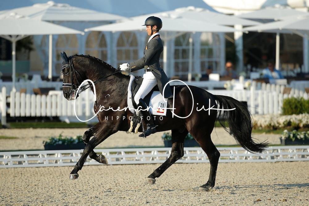 Matute Guimon Juan, (ESP), Don Diego YMAS<br /> Grand Prix U25<br /> CDIO Hagen 2015<br /> © Hippo Foto - Stefan Lafrentz