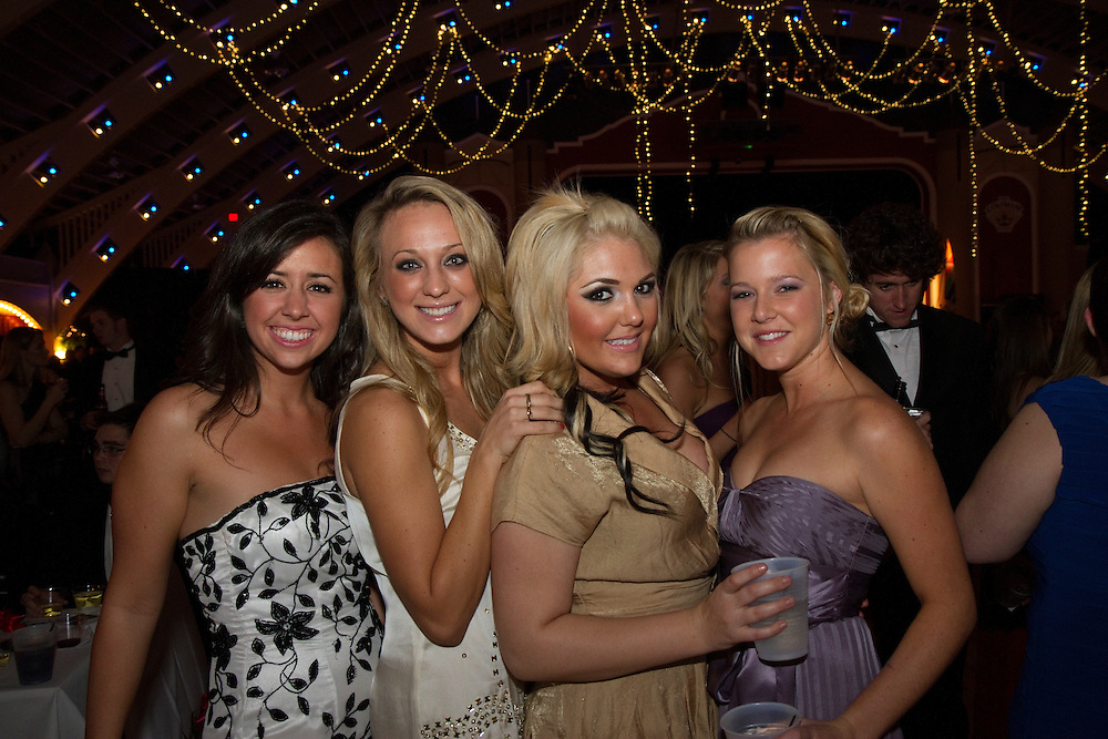 St.PeteDebs..Caption:(Wed. 12/29/2010 St Petersburg) Anna Keegan, Stephanie Giparas, Mariel Fritscher and Kelli Tahaney..Summary:2010 St. Petersburg Debutante Ball..Photo by James Branaman
