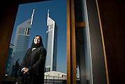 Sahia Ahmad, Partner, Reed Smith (Dubai) poses for a portrait at her office at the Dubai International Financial Centre in Dubai, United Arab Emirates on Sunday, September 28, 2008.