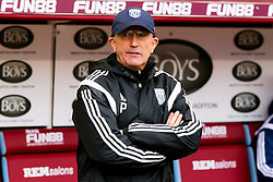 West Brom Manager Tony Pulis  - Photo mandatory by-line: Matt McNulty/JMP - Mobile: 07966 386802 - 08/02/2015 - SPORT - Football - Burnley - Turf Moor - Burnley v West Brom - Barclays Premier League