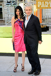 Nefer Suvio and Nick Rhodes attends the preview party for The Royal Academy of Arts Summer Exhibition 2013 at Royal Academy of Arts on June 5, 2013 in London, England. Photo by Chris Joseph / i-Images.