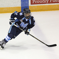 TORONTO, ON - SEP 11:  OJHL regular season game between the St.Michael's Buzzers and the Georgetown Raiders St.Michael's Buzzers and Georgetown Raiders  on September 11, 2016 in Toronto, Ontario. (Photo by Tim Bates / OJHL Images)