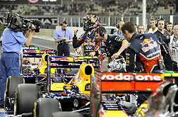 12.11.2011, Yas-Marina-Circuit, Abu Dhabi, UAE, Grosser Preis von Abu Dhabi, im Bild Sebastian Vettel (GER), Red Bull Racing  // during the Formula One Championships 2011 Large price of Abu Dhabi held at the Yas-Marina-Circuit, 2011/11/12. EXPA Pictures © 2011, PhotoCredit: EXPA/ nph/ Dieter Mathis..***** ATTENTION - OUT OF GER, CRO *****