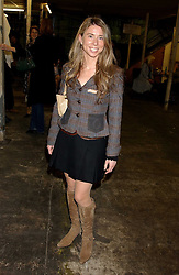 COMTESSA NICOLE PURIN at an opening party for artist Paul McCarthy's exhibition 'LaLa Land Parody Paradise' held at the Whitechapel Gallery, 80-82 Whitechapel High Street, London E1 on 22nd October 2005.<br /><br />NON EXCLUSIVE - WORLD RIGHTS