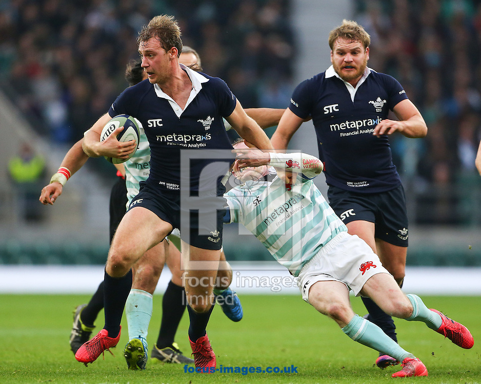 Basil Strang of Oxford University during The Varsity Match at Twickenham Stadium, Twickenham<br /> Picture by Mark Chappell/Focus Images Ltd +44 77927 63340<br /> 08/12/2016
