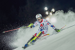 """29.01.2019, Planai, Schladming, AUT, FIS Weltcup Ski Alpin, Slalom, Herren, 1. Lauf, im Bild Julien Lizeroux (FRA) // Julien Lizeroux of France in action during his 1st run of men's Slalom """"the Nightrace"""" of FIS ski alpine world cup at the Planai in Schladming, Austria on 2019/01/29. EXPA Pictures © 2019, PhotoCredit: EXPA/ Dominik Angerer"""