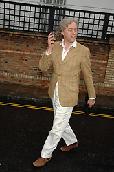 BOB GELDOFF at the annual Sir David & Lady Carina Frost Summer Party in Carlyle Square, London SW3 on 5th July 2007.<br /><br />NON EXCLUSIVE - WORLD RIGHTS