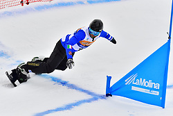 LUCHINI Jacapo, SB-UL, ITA, Banked Slalom at the WPSB_2019 Para Snowboard World Cup, La Molina, Spain