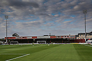 Bootham Crescent before the Capital One Cup match between York City and Bradford City at Bootham Crescent, York, England on 11 August 2015. Photo by Simon Davies.