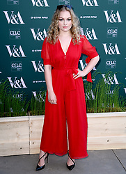 Ciara Charteris attending the VIP preview for the V&A Museum's Fashioned From Nature exhibition, in London. Photo credit should read: Doug Peters/EMPICS Entertainment