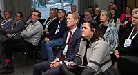 BUSSUM - NVG / NGF/ PGA congres 2018. The drive to happiness.  Lodewijk Klootwijk (NVG).  COPYRIGHT KOEN SUYK