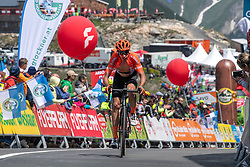 10.07.2019, Fuscher Törl, AUT, Ö-Tour, Österreich Radrundfahrt, 4. Etappe, von Radstadt nach Fuscher Törl (103,5 km), im Bild Victor de la Parte (ESP, CCC Team) // Victor de la Parte of Spain (CCC Team) during 4th stage from Radstadt to Fuscher Törl (103,5 km) of the 2019 Tour of Austria. Fuscher Törl, Austria on 2019/07/10. EXPA Pictures © 2019, PhotoCredit: EXPA/ Reinhard Eisenbauer