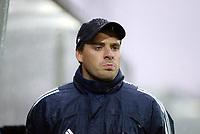 Fotball, 13. mai 2003, NM fotball herrer, Strømsgodset-Bærum,  Bærum sin trener, Tor Ole Skullerud