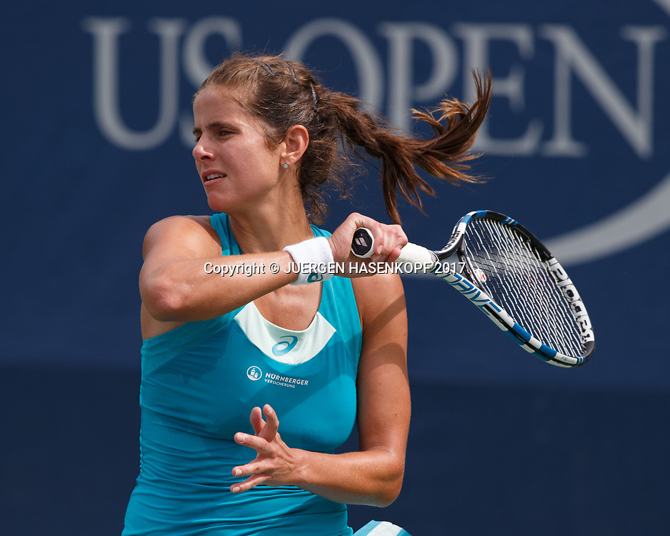 Julia Goerges Ger Tennis Us Open 2017 New York Grand Slam