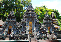 Imposing Bat Temple in Bali, Indonesia.
