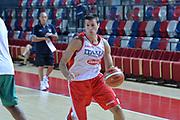 Andrea Cinciarini<br /> Nazionale Italiana Maschile Senior<br /> Eurobasket 2017<br /> Allenamento<br /> FIP 2017<br /> Telaviv, 30/08/2017<br /> Foto Ciamillo - Castoria/ M.Longo