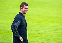 01/07/14<br /> CELTIC TRAINING<br /> AUSTRIA<br /> All smiles from Celtic manager Ronny Deila