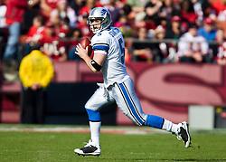 Dec 27, 2009; San Francisco, CA, USA;  Detroit Lions quarterback Drew Stanton (5) during the first quarter against the San Francisco 49ers at Candlestick Park. San Francisco defeated Detroit 20-6.