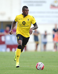 Aston Villa's Leandro Bacuna  - Photo mandatory by-line: Joe Meredith/JMP - Mobile: 07966 386802 - 17/07/2015 - SPORT - Football - Albufeira - Estadio Da Nora - Pre-Season Friendly