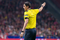 Referee Deniz Aytekin during UEFA Champions League match between FK Qarabag and Atletico de Madrid at Wanda Metropolitano in Madrid, Spain. October 31, 2017. (ALTERPHOTOS/Borja B.Hojas)