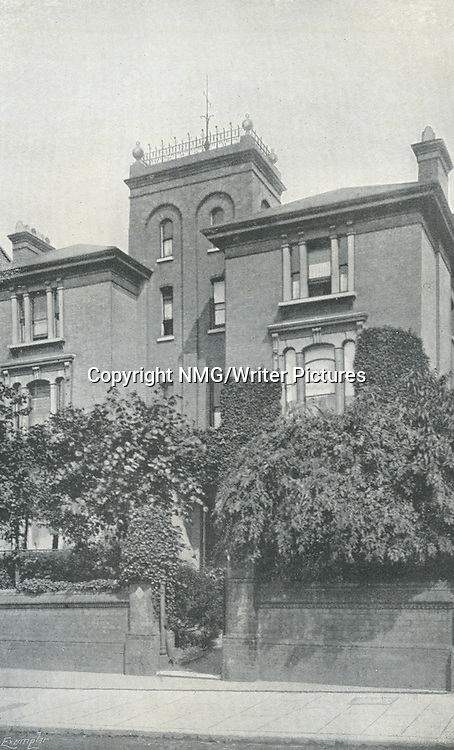 Home of Theodore Watts-Dunton and Algernon C. Swinburne, The Pines, Putney<br /> <br /> Copyright NMG/Writer Pictures<br /> WORLD RIGHTS