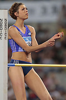 Esultanza di Vlasic Blanka Crozia High Jump Women,celebration <br /> Roma 04-06-2015 Stadio Olimpico<br /> IAAF Diamond League 2015 Rome<br /> Golden Gala Meeting - Track And Field Athletics Meeting<br /> Foto Cesare Purini / Insidefoto