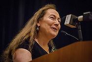 Dr. Donna Harrison, a board-certified obstetrician and gynecologist serving as the executive director of the American Association of Pro-life Obstetricians and Gynecologists, speaks during the 2017 LCMS Life Conference on Saturday, Jan. 28, 2017, in Arlington, Va. LCMS Communications/Erik M. Lunsford