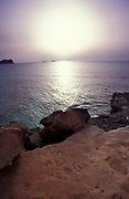 Sunrise on the coast, U.K 1990s.