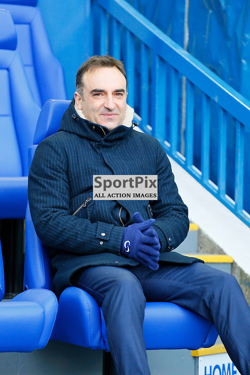 Carlos Carvalhal before Sheffield Wednesday v Leeds United, SkyBet Championship, Saturday 16th January, Hilsborough, Sheffield