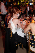 SUSIE HARRIET, Evgeny Lebedev and Graydon Carter hosted the Raisa Gorbachev charity Foundation Gala, Stud House, Hampton Court, London. 22 September 2011. <br /> <br />  , -DO NOT ARCHIVE-© Copyright Photograph by Dafydd Jones. 248 Clapham Rd. London SW9 0PZ. Tel 0207 820 0771. www.dafjones.com.