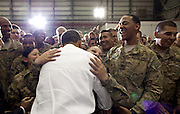 01.MAY.2012. BAGRAM<br /> <br /> PRESIDENT BARACK OBAMA GREETS U.S. TROOPS FOLLOWING HIS REMARKS AT BAGRAM AIR FIELD, AFGHANISTAN, MAY 1, 2012.  <br /> <br /> BYLINE: EDBIMAGEARCHIVE.CO.UK<br /> <br /> *THIS IMAGE IS STRICTLY FOR UK NEWSPAPERS AND MAGAZINES ONLY*<br /> *FOR WORLD WIDE SALES AND WEB USE PLEASE CONTACT EDBIMAGEARCHIVE - 0208 954 5968*