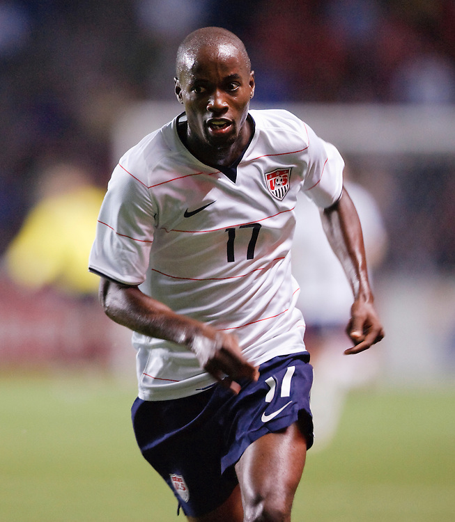 DaMarcus Beasley (17). The U.S. Men's National Team defeated Trinidad & Tobago 3-0 at Toyota Park in Bridgeview, IL on September 10, 2008.