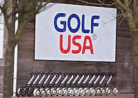 AMSTERDAM - Golf USA in de golfwinkel  op Golfbaan De Hoge Dijk in Amsterdam. COPYRIGHT KOEN SUYK