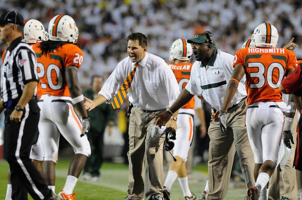 2011 Miami Hurricanes Football @ Maryland<br /> <br /> Al Golden