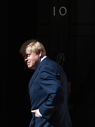 © Licensed to London News Pictures. 24/07/2019. London, UK. Boris Johnson enters 10 Downing Street for the first time as Prime Minister. Photo credit: Rob Pinney/LNP