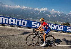 PERINOVIC Maja of Croatia during the Women's Elite Road Race a 156.2km race from Kufstein to Innsbruck 582m at the 91st UCI Road World Championships 2018 / RR / RWC / on September 29, 2018 in Innsbruck, Austria. Photo by Vid Ponikvar / Sportida
